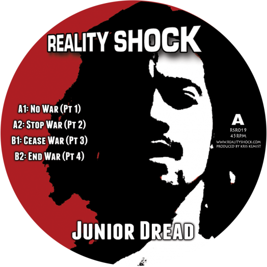 "Reality Shock feat Junior Dread - 10"" RSR019"