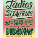 Dubquake Ladies at the control