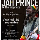 Jah Prince & the prophets, 1ière partie DJ set Les Hydropathes