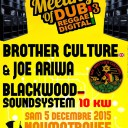 avec Brother Culture Feat Joe Ariwa + Blackwood Soundsystem