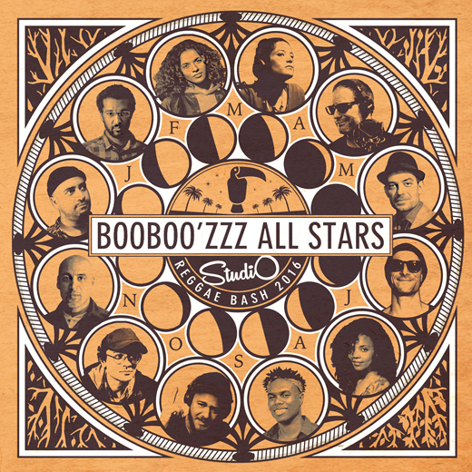Booboozzz All Stars -Studio Reggae Bash