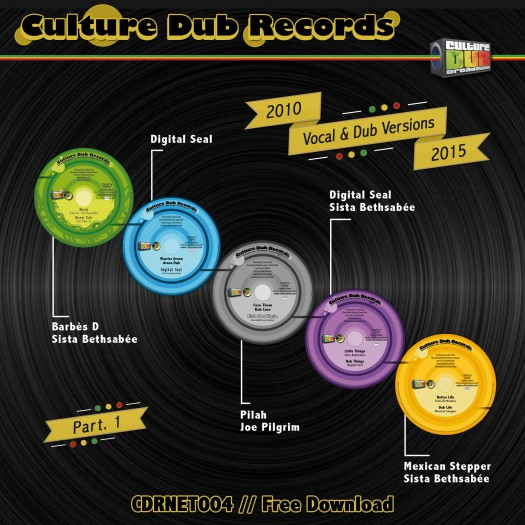 Culture Dub Records - Vocal and Dub Versions - 2010/2015 - Part 1