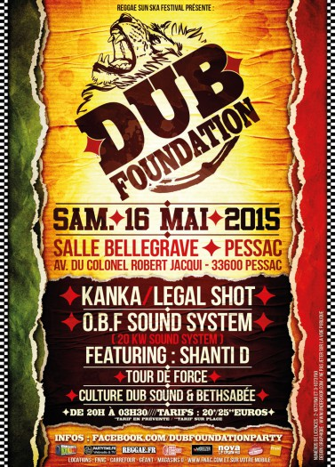 Dub Foundation Pessac