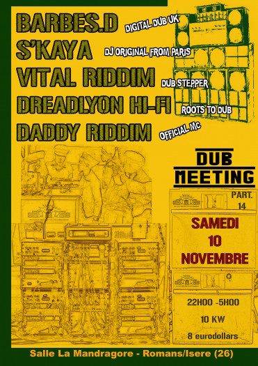 Dub Meeting 14 Dreadlyon
