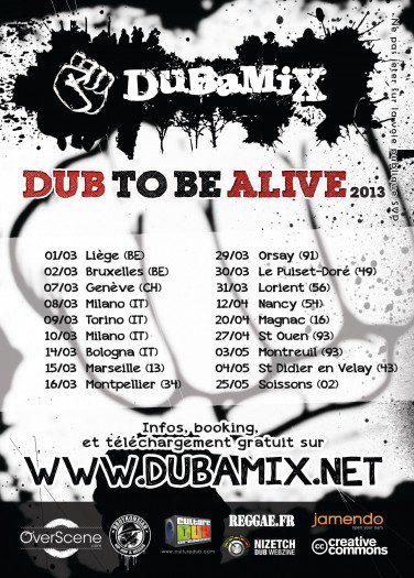 Dubamix - Dub to be Alive