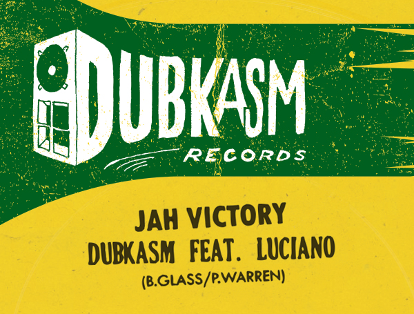 """Dubkasm - 12"""" Jah-Victory / Right There"""