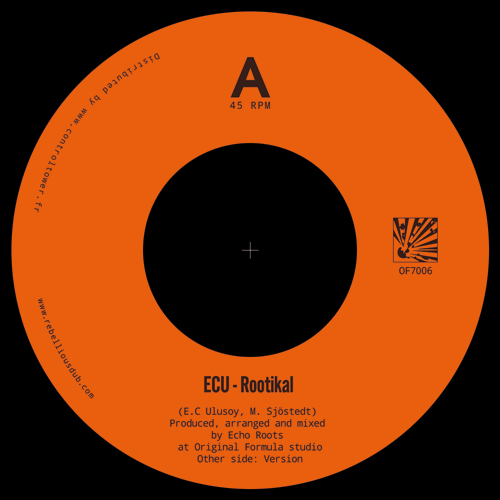 Echo Roots feat ECU - 7inch OF7006