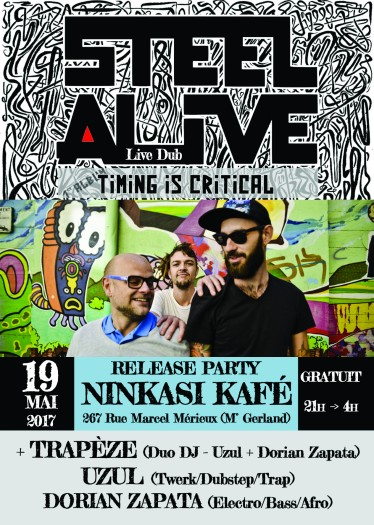 Steel Alive Release Party
