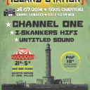 ISLAND STATION - 26 JUILLET 2014 - SOUS CHAPITEAU / CHANNEL ONE- I-SKANKERS FULL SYSTEM - UNTITLED DUB