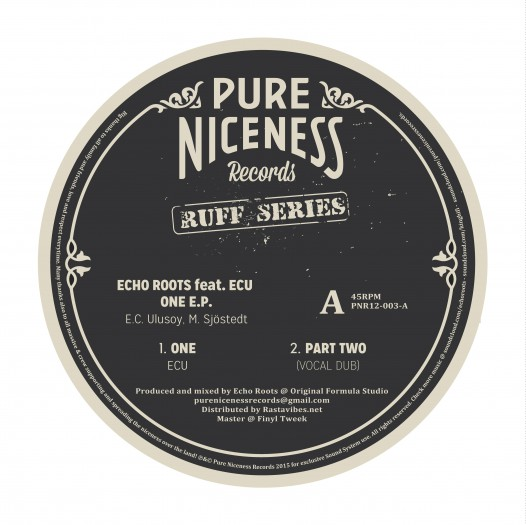 "Echo Roots feat ECU - 12"" Pure Niceness Records PNR12-003"