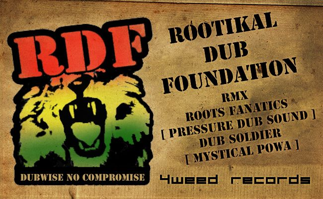 Rootikal Dub Foundation - Remix Inna Dubplate Style Vol.1