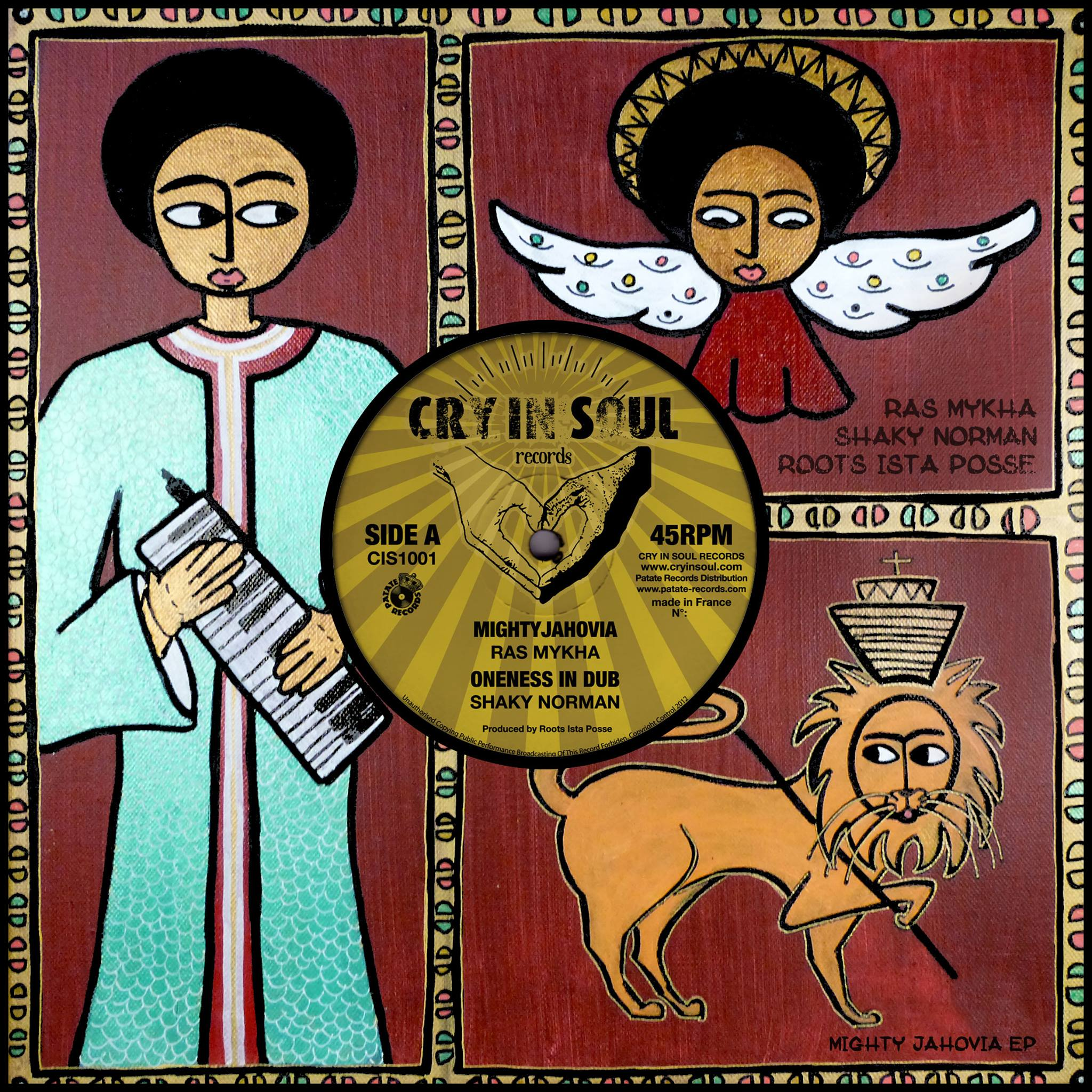 Ras Mykha - Cry'In Soul Records CIS-1001