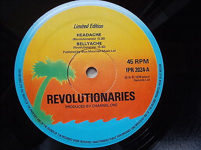 Revolutionaries - 12inch Channel-One