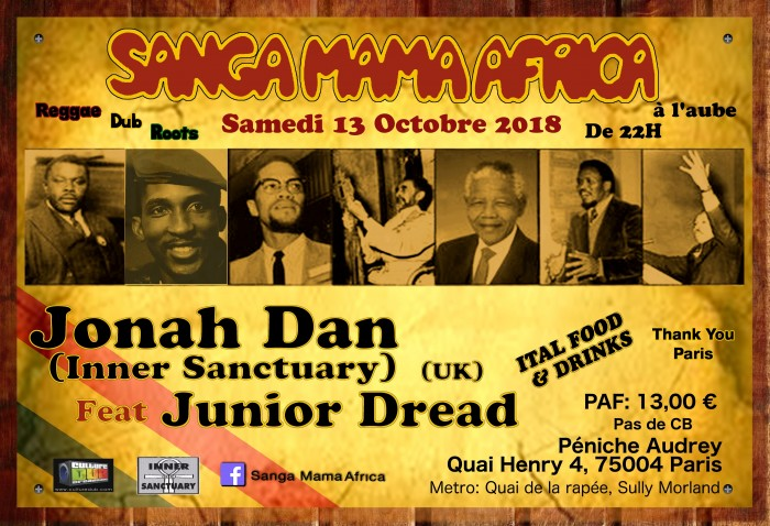 Sanga Mama Africa & Inner Sanctuary feat Junior Dread