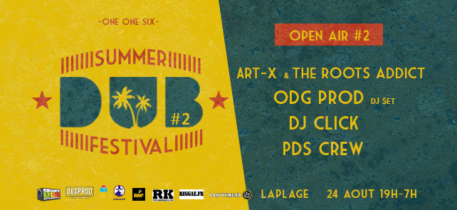 Summer Dub Festival – Open air gratuit#2