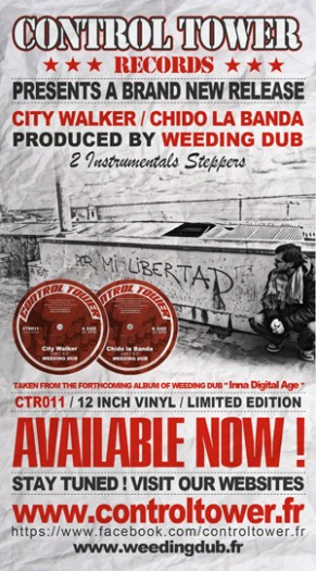 "Weeding Dub - 12"" Control Tower Records"