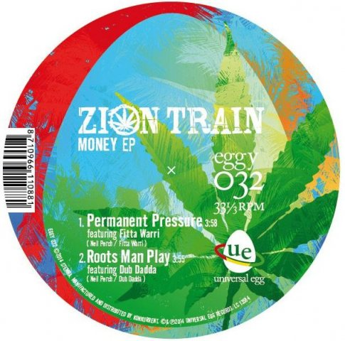 Zion Train - Money EP