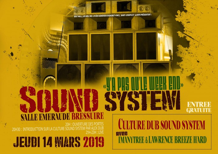 Y'a pas qu'le week-end – Sound system