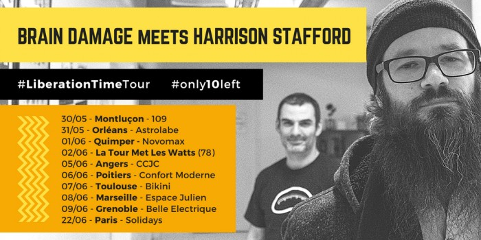 Braine Damage meets Harrison Stafford - Liberation TIme Tour