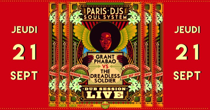 Paris djs soul system green tingz little big man le - Little green paris ...
