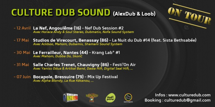 Culture Dub Sound Tour