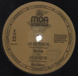 image version medium: Moa Anbessa feat. Don Diego & Well Jahdgment - Jah Jah Thank You / Step It Up - 12