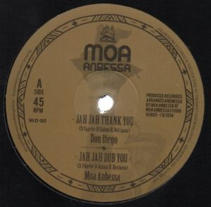 "Moa Anbessa feat. Don Diego & Well Jahdgment - Jah Jah Thank You / Step It Up - 12"" Moa Anbessa Italy"