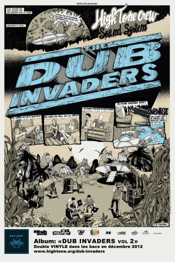 image version large: Dub Invaders Affiche