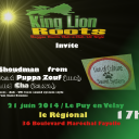 King lion roots / lion of culture sound / 21 juin - Le puy (43)