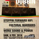 STEPPIN FORWARD HI-FI + WORD SOUND & POWER + CULTURAL WARRIORS