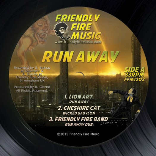 Friendly Fire Band - Run Away EP
