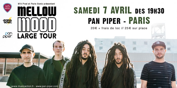 Mellow Mood en concert