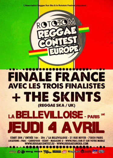Reggae Contest Europe Finale France