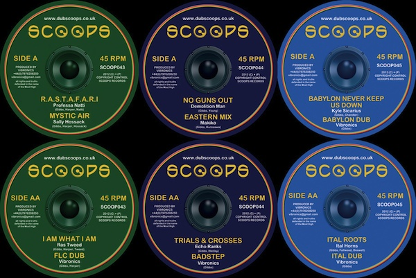 Scoops Records Winter 2012 10inch