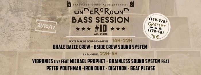 Underground Bass Session #10 – Brainless 5 Years