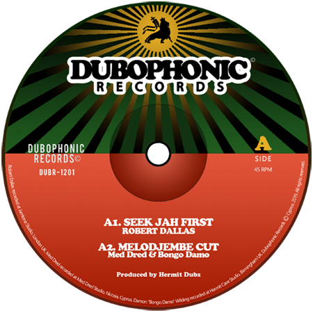 Hermit Dubz - 12inch Dubophonic Records DUBR-1201