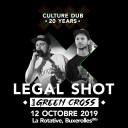 Legal Shot and Green Cross - Culture Dub 20 Years
