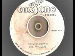 """7"""" Simmer Down - The Wailers"""