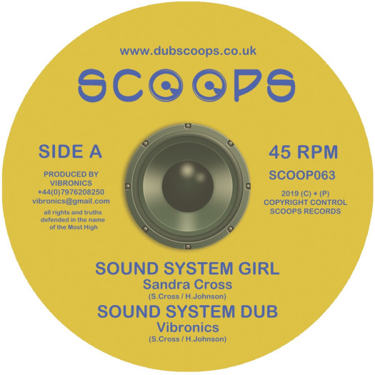Vibronics feat. Sandra Cross - Sound System Girl